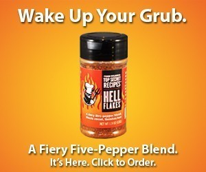 Hell Flakes - A fiery five-pepper blend