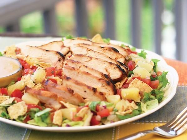 Top Secret Recipes Chili S Grilled Caribbean Salad