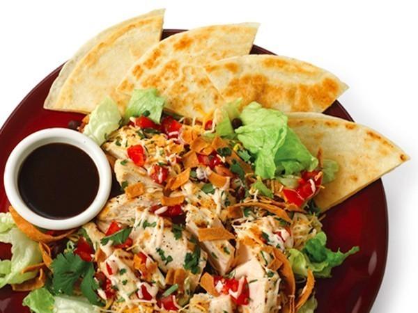Chili S Quesadilla Explosion Salad Recipe Top Secret Recipes