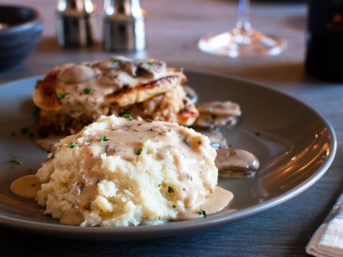 Olive Garden Garlic Mashed Potatoes Recipe Top Secret Recipes