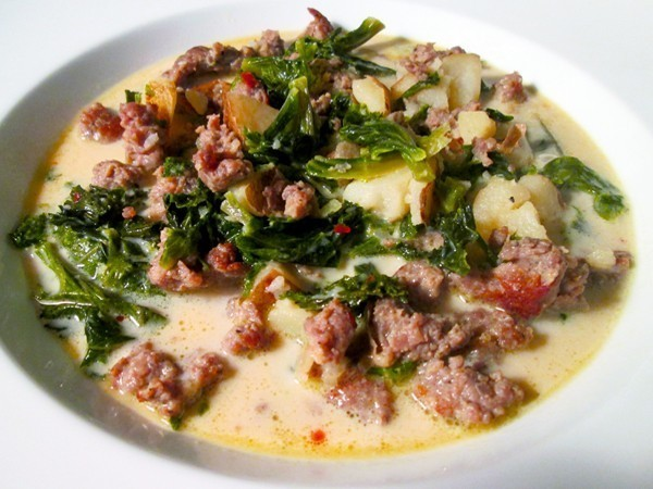 Top Secret Recipes Olive Garden Zuppa Toscana Reduced Fat