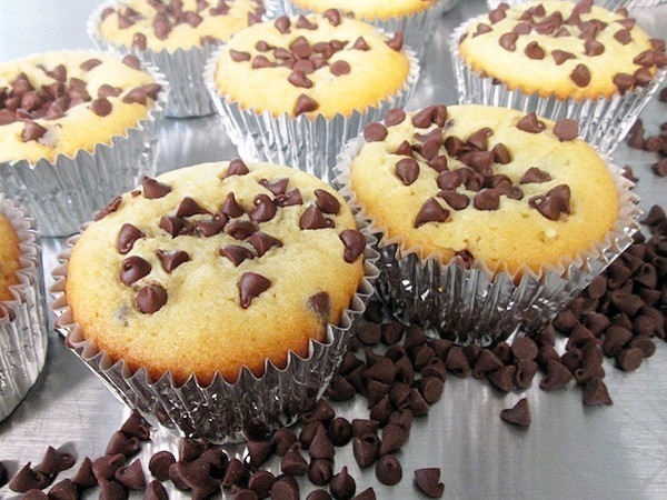 Low Fat Chocolate Chip Muffin