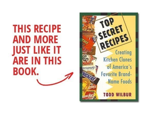 top secret recipes hostess twinkie creme filling