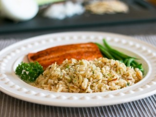Applebee's Almond Rice Pilaf copycat recipe by Todd Wilbur