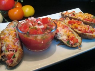 Applebee's Baja Potato Boats Reduced-Fat copycat recipe by Todd Wilbur