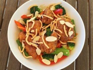 Applebee's Crispy Orange Chicken Bowl copycat recipe by Todd Wilbur