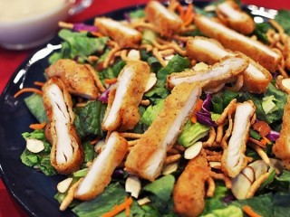 Applebee's Oriental Chicken Salad copycat recipe by Todd Wilbur