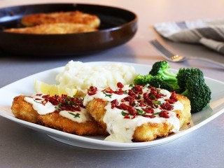 BJ's Restaurant and Brewhouse Parmesan Crusted Chicken Breast copycat recipe by Todd Wilbur