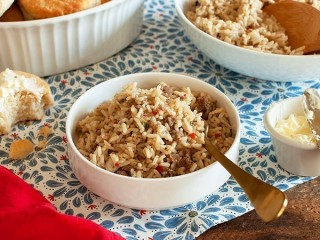 Bojangles' Dirty Rice copycat recipe by Todd Wilbur