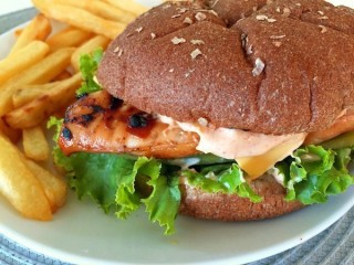 Carl's Jr. Charbroiled Santa Fe Chicken Sandwich Reduced-Fat