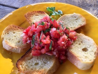 Cheesecake Factory Bruschetta copycat recipe by Todd Wilbur