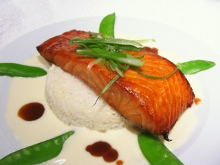 Cheesecake Factory Miso Salmon copycat recipe by Todd Wilbur