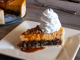 Cheesecake Factory Pumpkin Pecan Cheesecake copycat recipe by Todd Wilbur