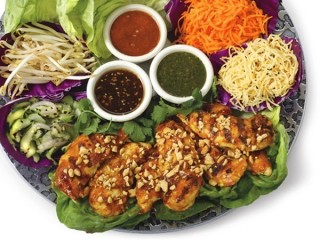 Cheesecake Factory Thai Lettuce Wraps copycat recipe by Todd Wilbur
