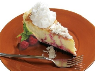 Cheesecake Factory White Chocolate Raspberry Truffle Cheesecake copycat recipe by Todd Wilbur