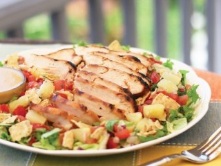 Chili's Grilled Caribbean Salad copycat recipe by Todd Wilbur