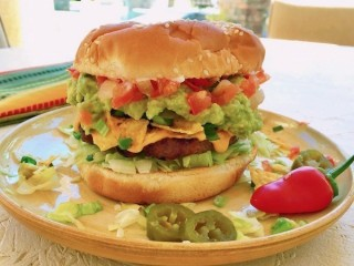 Chili's Nacho Burger copycat recipe by Todd Wilbur