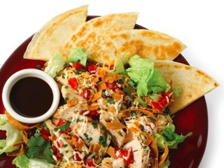 Chili's Quesadilla Explosion Salad copycat recipe by Todd Wilbur