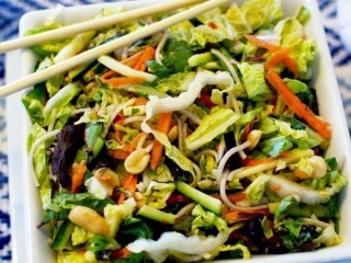 Claim Jumper Spicy Thai Slaw copycat recipe by Todd Wilbur