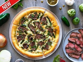 California Pizza Kitchen Carne Asada Pizza copycat recipe by Todd Wilbur