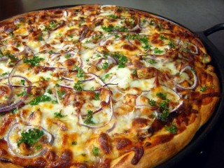 California Pizza Kitchen Original BBQ Chicken Pizza copycat recipe by Todd Wilbur
