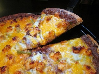 California Pizza Kitchen Southwestern Burrito Pizza copycat recipe by Todd Wilbur