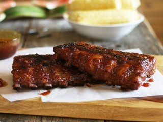 Hard Rock Cafe Famous Baby Rock Watermelon Ribs copycat recipes by Todd Wilbur