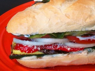 Hard Rock Cafe Grilled Vegetable Sandwich copycat recipe by Todd Wilbur