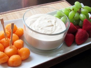 Jason's Deli Creamy Liqueur Fruit Dipping Sauce copycat recipe by Todd Wilbur