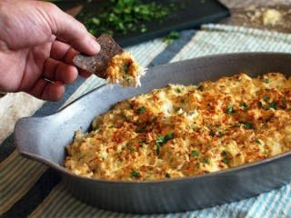 Joe's Crab Shack Blue Crab Dip copycat recipe by Todd Wilbur
