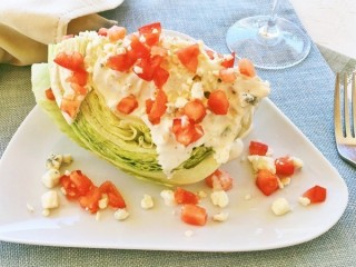 Lone Star Steakhouse Lettuce Wedge Salad copycat recipe by Todd Wilbur
