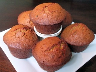 Mimi's Cafe Carrot Raisin Nut Muffins copycat recipe by Todd Wilbur