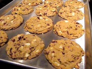 Mrs. Fields Cranberry White Chocolate Cookies Copycat Recipe