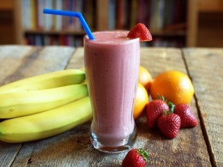 Orange Julius Strawberry-Banana Classic Smoothie copycat recipe by Todd Wilbur