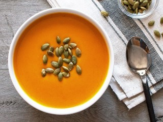 Panera Bread Autumn Squash Soup copycat recipe by Todd Wilbur