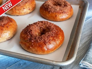 Panera Bread Cinnamon Crunch Bagel copycat recipe by Todd Wilbur