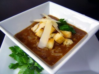 Panera Bread French Onion Soup copycat recipe by Todd Wilbur