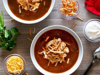 Qdoba Tortilla Soup copycat recipe by Todd Wilbur