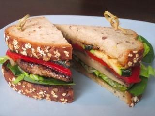 Rainforest Cafe The Plant Sandwich