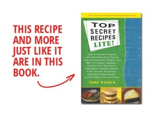 Wendy's Single With Cheese Reduced-Fat copycat recipe by Todd Wilbur