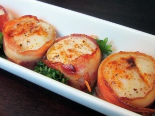 Red Lobster Scallops And Bacon copycat recipe by Todd Wilbur