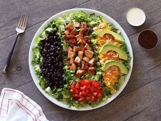 Red Robin BBQ Chicken Salad copycat recipe by Todd Wilbur