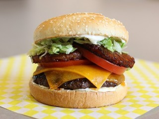 Red Robin The Banzai Burger copycat recipe by Todd Wilbur