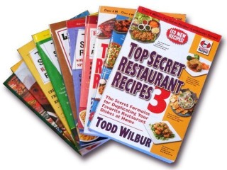 Set of Ten Top Secret Recipes Books