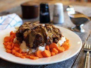 Shoney's Slow-Cooked Pot Roast copycat recipe by Todd Wilbur