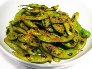 Simon Kitchen & Bar Wok-Charred Edamame copycat recipe by Todd Wilbur