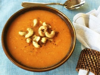 Soup Nazi's Cream of Sweet Potato Soup copycat recipe by Todd Wilbur