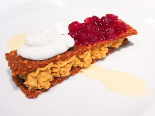 Spago Pumpkin Cheesecake copycat recipe by Todd Wilbur