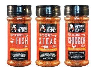 Top Secret Rubs - Combo Pack