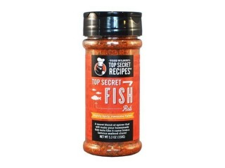 Top Secret Fish Rub